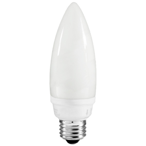Torpedo B13 CFL - 9 Watt - 30W Equal - 2700K Warm White Image