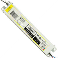 LED Driver - Operates 10-60 Watts - Input 120-277V - Works With 12V Output Constant Voltage Products Only
