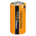 Duracell Procell - C Size - Alkaline Battery Image