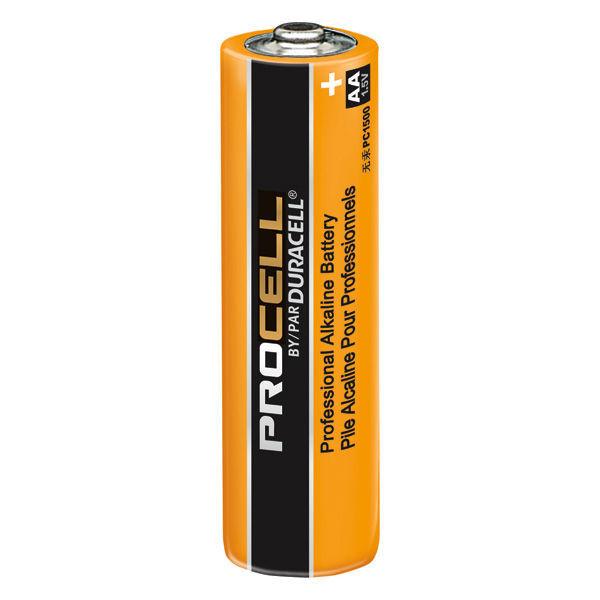 Duracell Procell - AA Size - Alkaline Battery Image