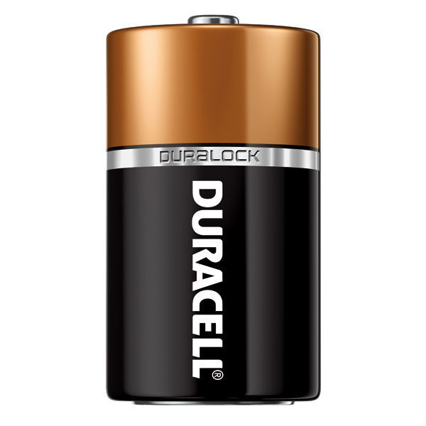 Duracell CopperTop - D Size - Alkaline Battery Image