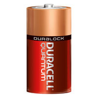 Duracell Quantum - C Size - Long-Lasting Advanced Alkaline Battery - Duralock Technology - Professional Grade - 12 Pack - QU1400