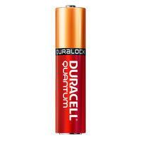 Duracell Quantum - AAA Size - Long-Lasting Advanced Alkaline Battery - Duralock Technology - Professional Grade - 24 Pack - QU2400