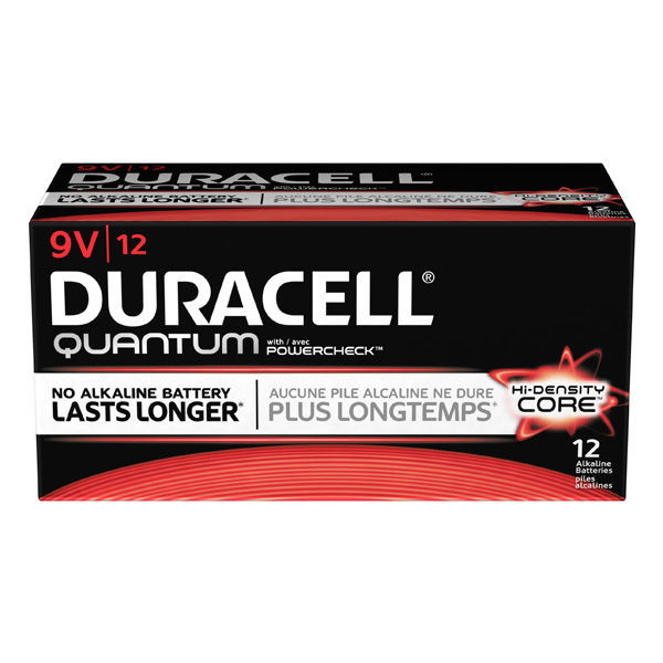 Duracell Quantum - 9V Size - Long-Lasting Alkaline Battery Image