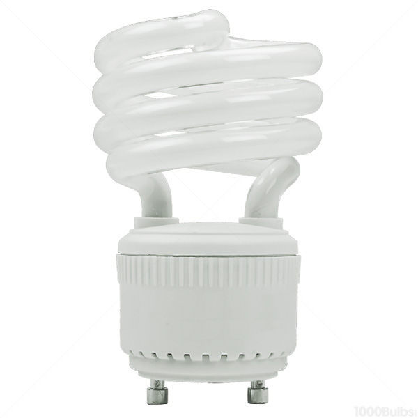 Spiral CFL - 19 Watt -  75W Equal - 4100K Cool White Image