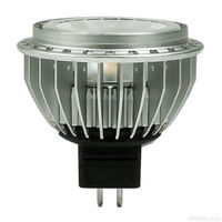 584 Lumens - 3000 Kelvin - LED MR16 - 8.7 Watt - 50W Equal - 40 Deg. Flood - Color Corrected CRI 90 - Dimmable - 12V - GU5.3 Base