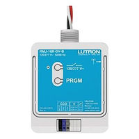 16A Wireless Relay Module with Softswitch - Contact Closure Output for 3rd-party Systems - 120-277 Volt - Lutron PowPak RMJ-16RCCO1-DV-B