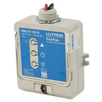 Wireless Dimming Module - Operates 0-10V Fluorescent Ballasts or LED Drivers - 120-277 Volt - Lutron PowPak RMJ-5T-DV-B