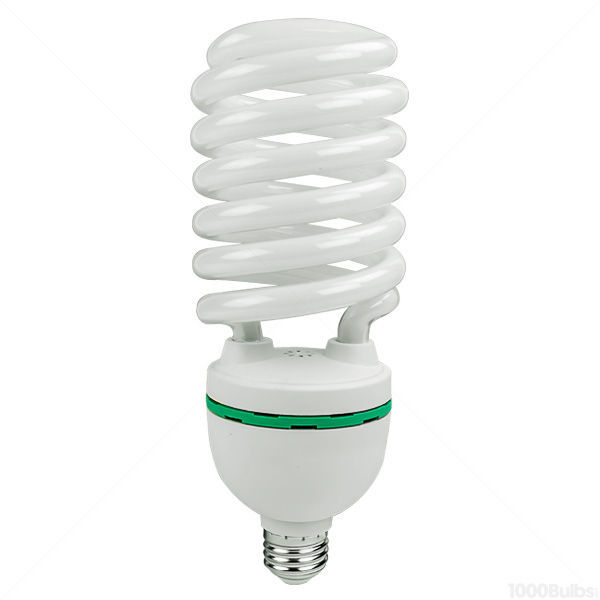 Spiral CFL - 65 Watt - 250W Equal - 6500K Full Spectrum Daylight Image