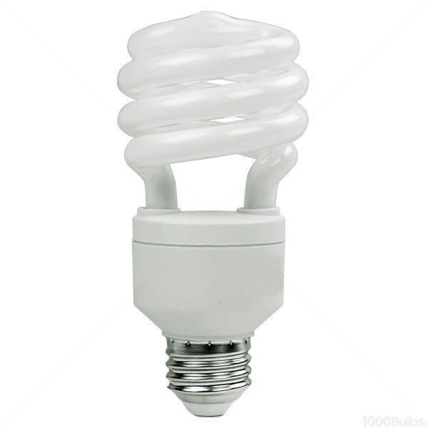 T3 Spiral CFL - 20 Watt - 75W Equal - 2700K Warm White Image