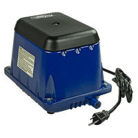 Air Force Pro 60 - Air Pump - 68 Liters Per Minute - 1.7 Amps - 63 Watts - 120 Volts - Sunlight Supply 746510