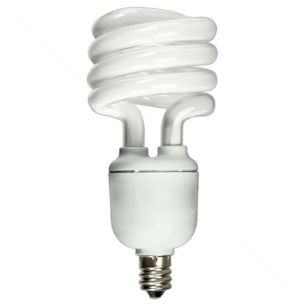 Spiral CFL - 13 Watt - 60W Equal - 5000K Full Spectrum Image