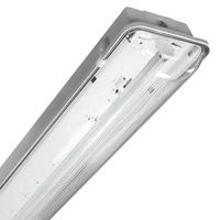 Fluorescent - IP65, IP67 - Water/Vapor Tight Fixture - 120-277V - 3 Lamp F54T5/HO - TCP WL4WA354UNIV