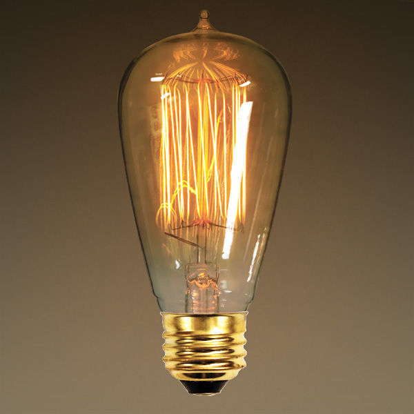 Ferrowatt 1910n edison light bulb 40 watt Tungsten light bulbs
