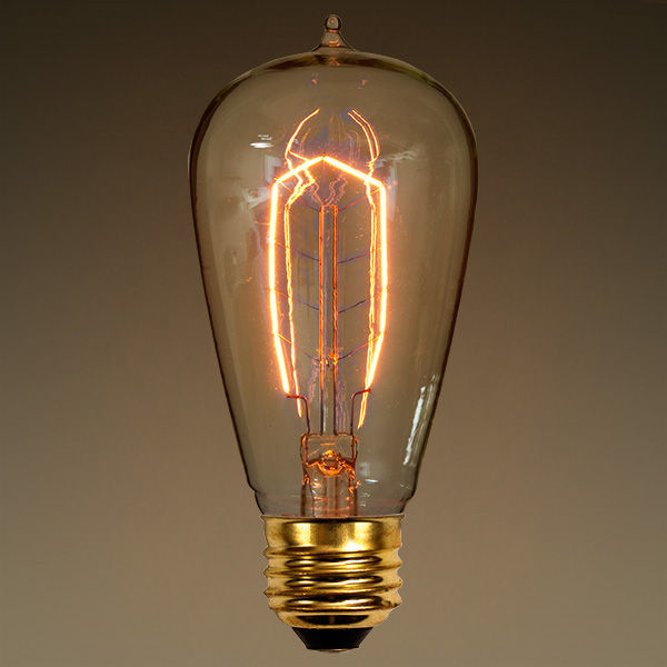 FerroWatt F1900 - Edison Light Bulb - 40 Watt