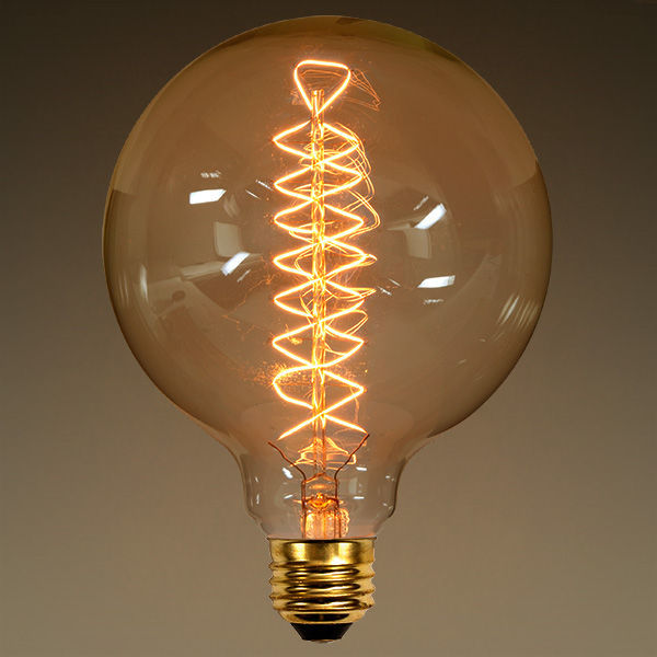 G40 Vintage Antique Light Bulb 40w Globe Style
