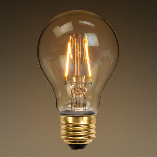 LED - Filament Type - 2.5 Watt - A19 - 40 Watt Equal Image