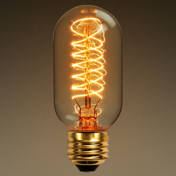 40 Watt Vintage Antique Light Bulb Radio Style