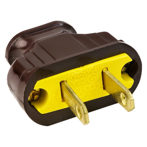 Brown - Antique Electrical Plug Image