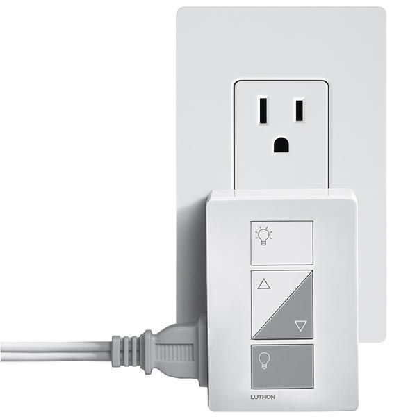 Caseta Wireless Table Lamp Dimmer   2 Receptacles Image