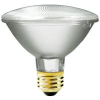 55 Watt - PAR30 - 75 Watt Equivalent - Short Neck Flood - Halogen - 1,000 Life Hours - 960 Lumens - 120 Volt