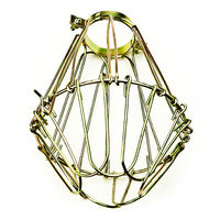 Brass Wire Lamp Guard - Keyless - Replacement Bulb Cage - PLT SG200