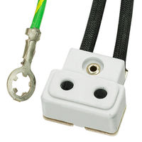 TP22H CE Socket - 63 In. Leads - 16 AWG - European 3-Wire - Use with Halogen Lamps - SYLVANIA 69017