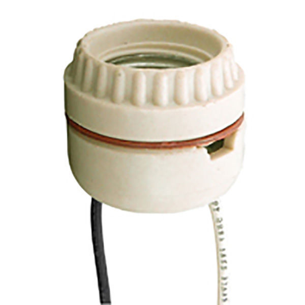 Keyless Socket - Porcelain - Medium Base Image