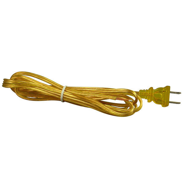 Lamp Cord Set - Gold - 8 ft. Image