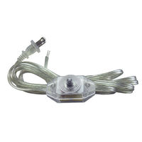 11 ft. Lamp Dimmer Cord - Clear - 200 Watt Max. - PLT 56-1934-47