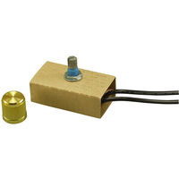 Mini-Dimmer - Full Range - Gold Knob - 200W Max.