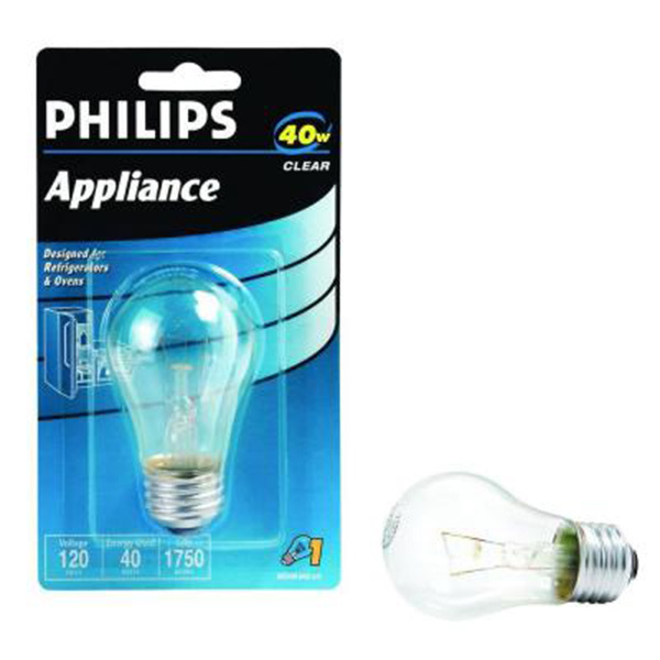 40 watt a15 clear appliance bulb image - A15 Bulb