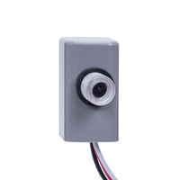 Electronic Button Type Photocell - Fixed Position Mounting - LED Compatible - Dusk-to-Dawn - 120-277 Volt - Intermatic EK4036S