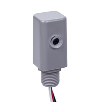 Intermatic EK4136S - Electronic Photo Control - LED Compatible - Stem Mounting - Dusk-to-Dawn - 120-277 Volt