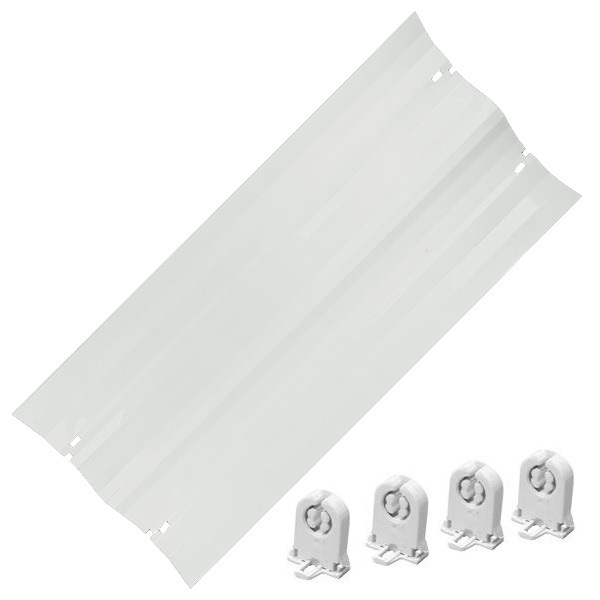 48 in. Reflector Retrofit Kit - For (2) Lamps Image