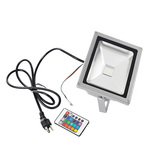 50 Watt - RGB LED Flood Light Fixture with IR Remote Control Image