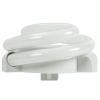 TCP 33013SQ - 13 Watt - Low Profile Spiral CFL - 4 Pin G24q-1 Base - 60W Equal - 2700K