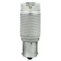 2.5 Watt - LED - JC20 - SC Bayonet Base - 3000K Halogen White - 20 Watt Equal - 12 Volt DC Only