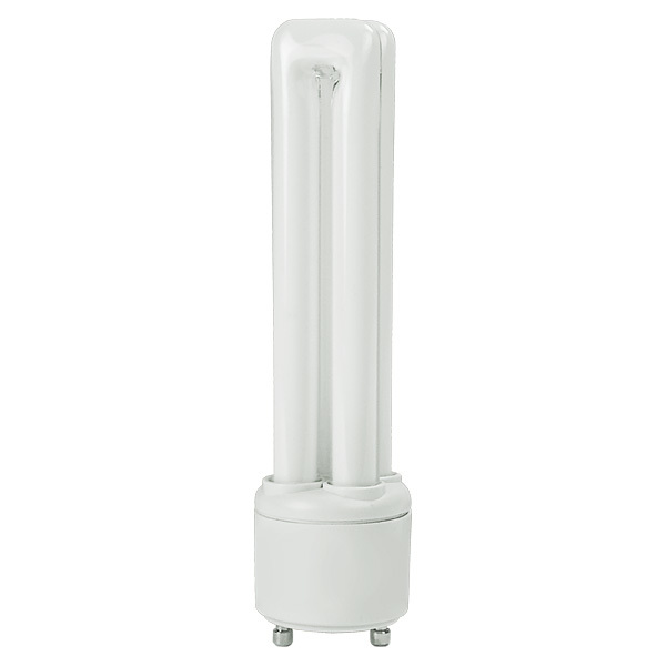 Quad Tube CFL - 26 Watt - 100W Equal - 3000K Halogen White Image