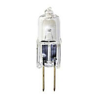 10 Watt - T3 - G4 Base - Halogen - Clear - 3,000 Life Hours - 120 Lumens - 12 Volt