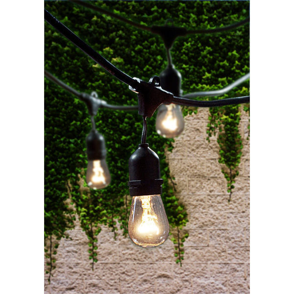 48 ft. - Patio Light Stringer - 15 Sockets Image