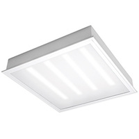 2000 Lumens - 2 x 2 LED Recessed Troffer - 25 Watt - 3500 Kelvin - Opaque Lens - 120V - 5 Year Warranty