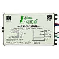 Fulham H8-UNV-175HSC - 175 Watt - Electronic Metal Halide Ballast - ANSI M57/152/137 - 120/277 Volt - Power Factor 95% - Side Lead Mounting
