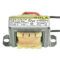 Sola FCF-7/9-TP - (1) Lamp - 7 or 9 Watt CFL - 120 Volt - Preheat Start - 1.07 Ballast Factor