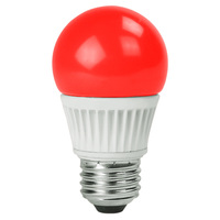 Red - 5 Watt - LED - S14 - 120 Volt