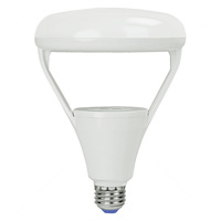 700 Lumens - 2700 Kelvin Residential Warm - LED BR40 - 9 Watt - 65W Equal - Dimmable - 120V - Green Creative 40627