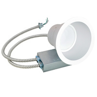 1500 Lumens - 22W LED - Downlight - 4000K - 6 in. Housing - Dimmable - Green Creative 97688
