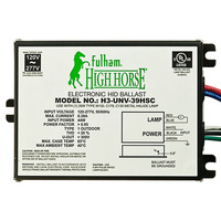 Fulham H3-UNV-39HSC - CMH 39 Watt - Electronic Metal Halide Ballast - Side Leads with Mounting Feet