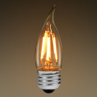 LED Chandelier Bulb - Color Matched For Incandescent Replacement - Clear - 3.5 Watt - 40W Equal - 325 Lumens - LifeBulb 10112