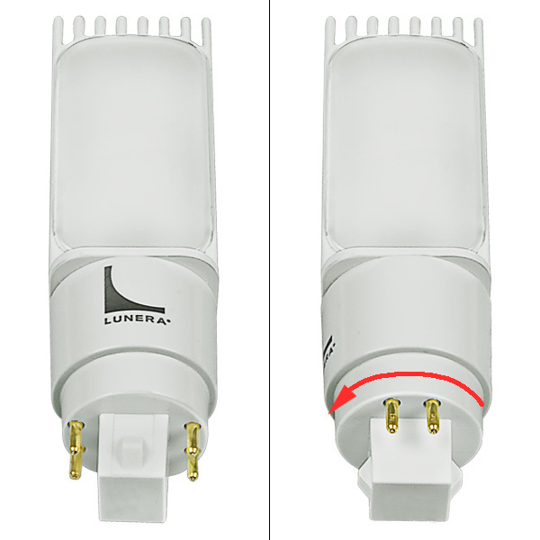 LED G24q PL Lamp - 4-Pin Image
